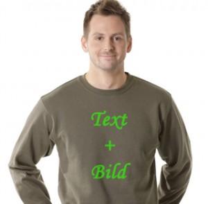 bedruckte Pullover mit Bild & Text