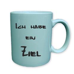 Tasse mit Schriftzug bedrucken