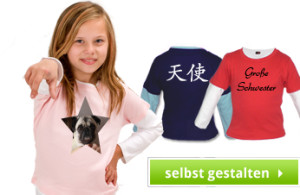 Kinder Longshirt - Pullover - Jacken