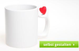 Tasse mit Liebes Spruch