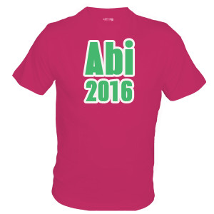 abi2016 Shirts bedrucken