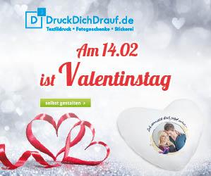 14.02.2019 ist Valentinstag