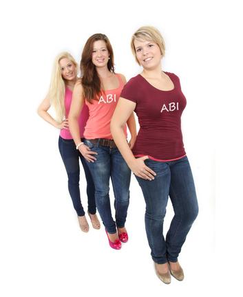 Abi Frauen Shirts bedrucken