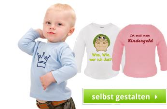 Baby Langarmshirts bedrucken