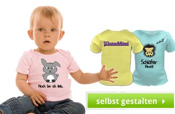Baby Lap T-Shirts bedrucken