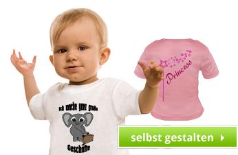 Baby Shirts bedrucken