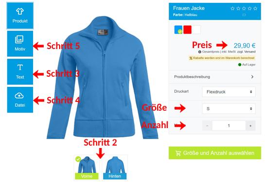 Wie kann man Frauen Jacken gestalten?
