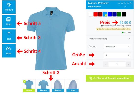 Wie kann man Frauen Poloshirts gestalten?