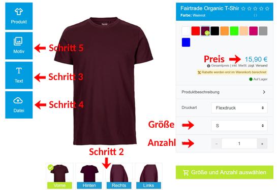 Wie kann man T-Shirts mit Frauen und Sex Sprüche gestalten?