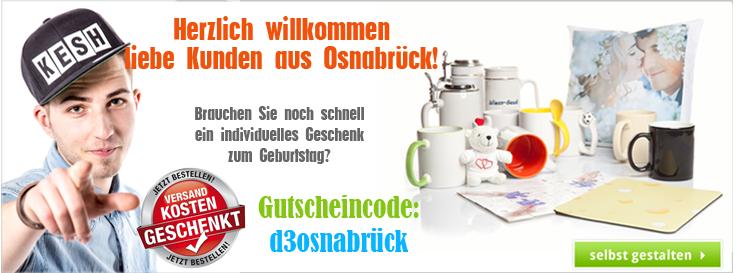 Gutscheincode für Kunden aus Osnabrück - Spare die Versandkosten!