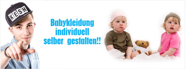 babykleidung individuell gestalten und bedrucken baby. Black Bedroom Furniture Sets. Home Design Ideas