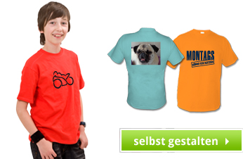 Kinder Shirts bedrucken