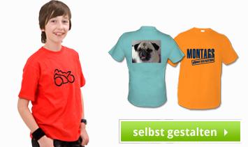 Kinder T-Shirts bedrucken