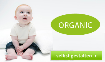 Organic Baby Shirts bedrucken