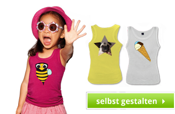 Kinder Tank Top bedrucken