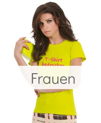 Frauen T-Shirts bedrucken
