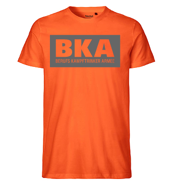 Organic T-Shirt mit Spruch - BKA - Berufs Kampftrinker Armee