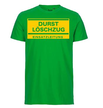 Organic Shirt mit Spruch - Durst Löschzug - Einsatzleitung
