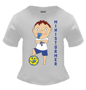 Baby Shirt mit Spruch - Ministürmer