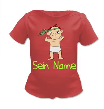 Lap Shirt mit Motiv der Draufgänger und eigenen Namen