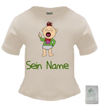 Orangic Shirt mit Motiv der Klugscheißer selbst mit Namen gestalten