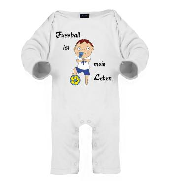 Schlafanzug mit Spruch - Fussbal ist mein Leben