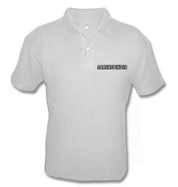 Poloshirt mit Spruch - Sammenspender