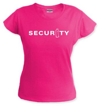 Frauen Shirt mit Spruch - Securitiy
