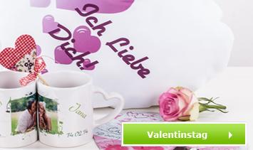 Kissen zum Valentinstag bedrucken lassen