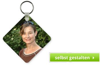Schlüsselanhänger Viereck
