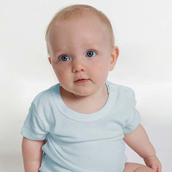 Fairtrade Baby Body   Hellblau | 62