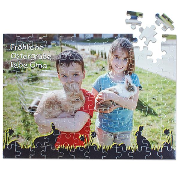 Fotopuzzle mit 120 Teilen