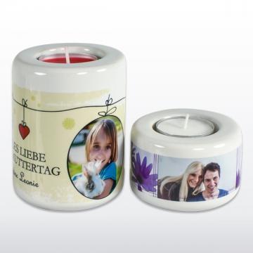 Kerzenhalter   Weiß | 50 mm