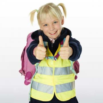 Warnweste für Kinder   Gelb | XS
