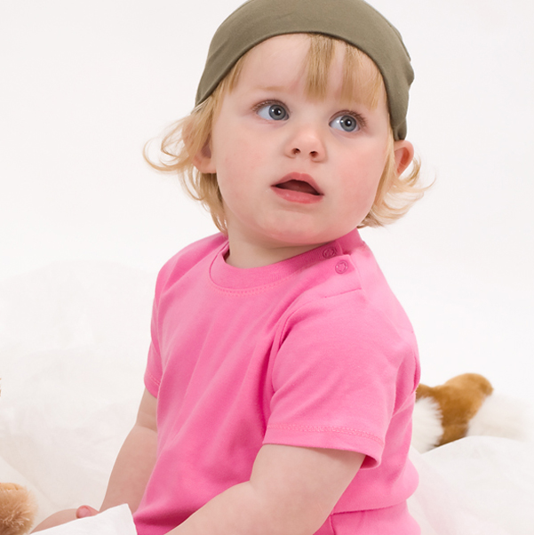 Organic Baby T-Shirt Schwarz | 12-18 Monate