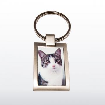 Schlüsselanhänger aus Metall Matt | One size