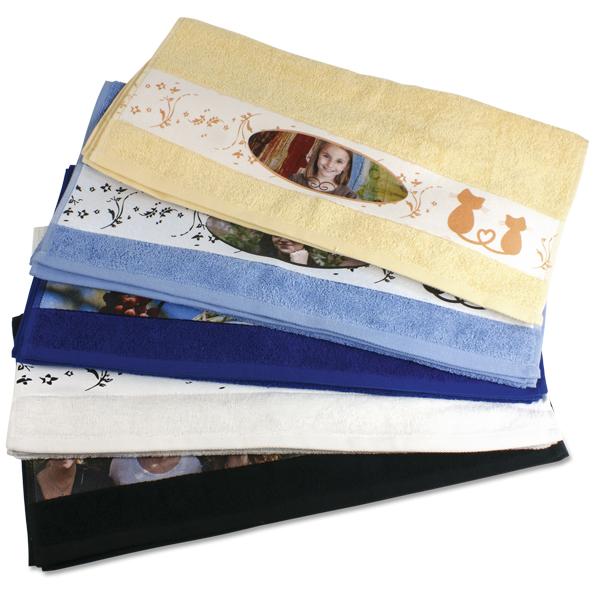 handtuch bedrucken lassen selbst gestalten mit foto und text. Black Bedroom Furniture Sets. Home Design Ideas