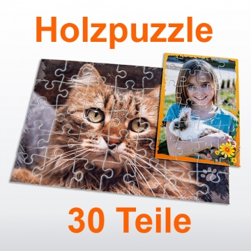 Holzpuzzle 30 Teile