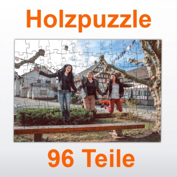 Holzpuzzle 96 Teile