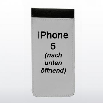 Handytasche iPhone 5 nach unten öffnend