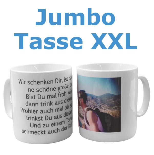 Jumbo Tasse XXL
