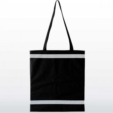 Shopping Tasche mit Reflexionsstreifen