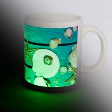 Fototasse mit Leuchteffekt