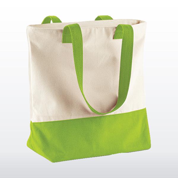 einkaufstasche zweifarbig moderne tasche bedrucken lassen selber gestalten. Black Bedroom Furniture Sets. Home Design Ideas