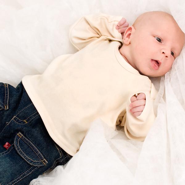 Baby bio langarmshirt bedrucken und selber gestalten for Fotokissen selber machen